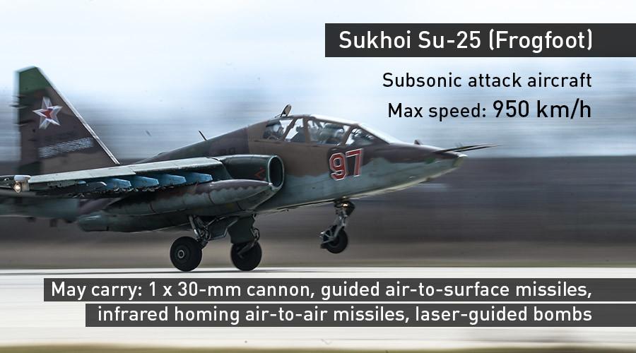Su-25 attack aircraft © Vladimir Astapkovich