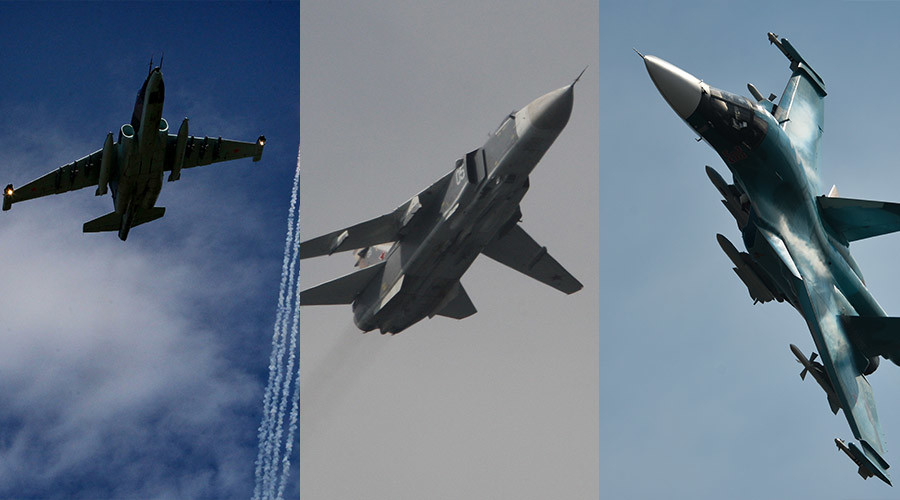 Sukhoi warplanes used by Russia in Syria anti-terror op (PHOTOS)