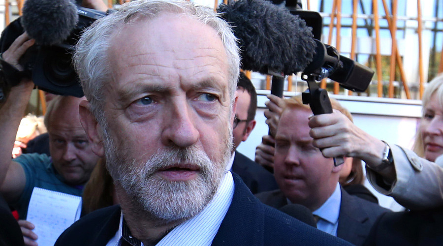 Britain's opposition Labour Party leader Jeremy Corbyn © Russell Cheyne