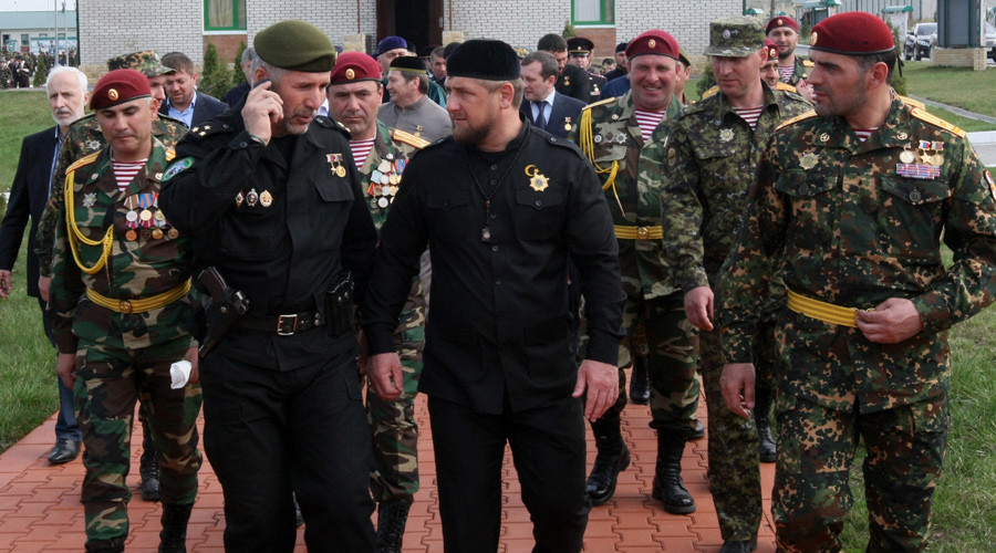 Kadyrov asks Putin to allow Chechen infantry to fight in Syria