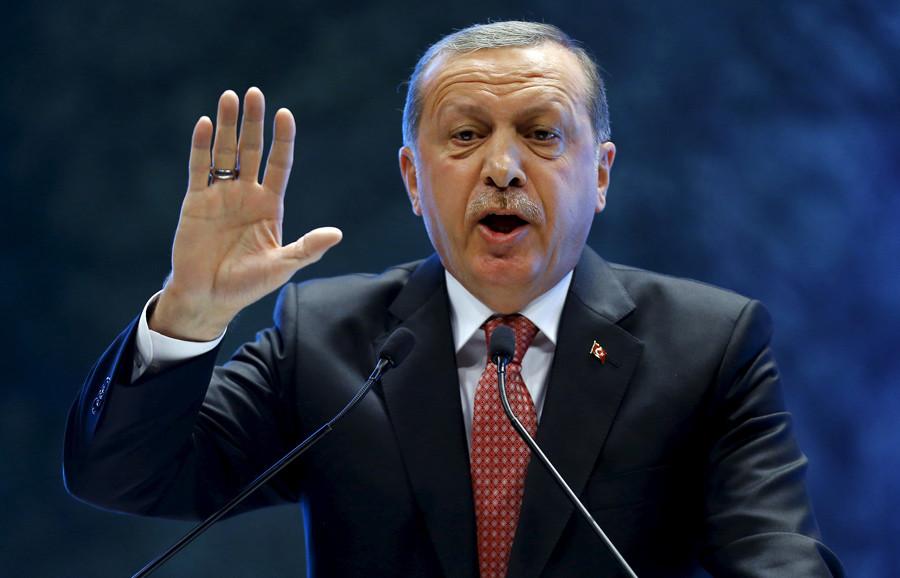 Turkey's President Tayyip Erdogan © Umit Bektas
