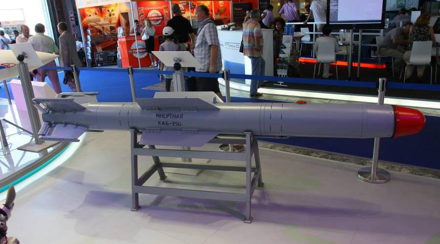 GLONASS-guided KAB-250 high-precision air bomb © sdelanounas.ru