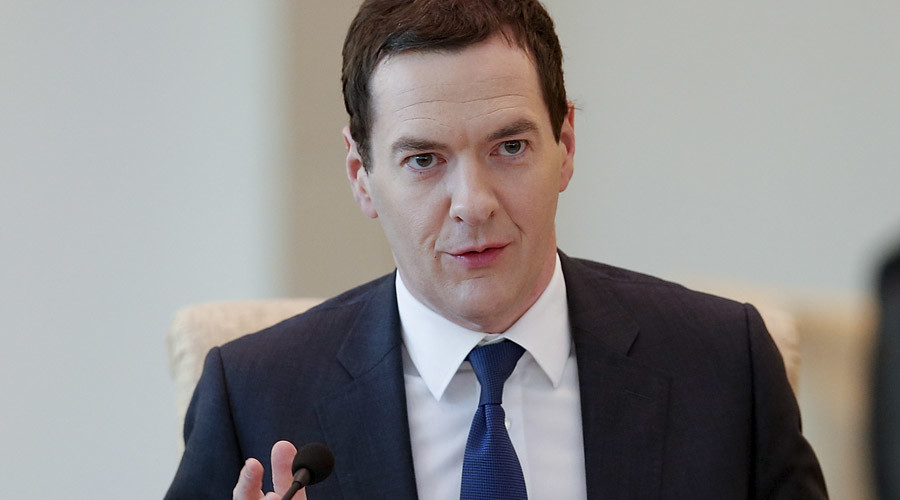 Britain's Chancellor of the Exchequer George Osborne. © Reuters