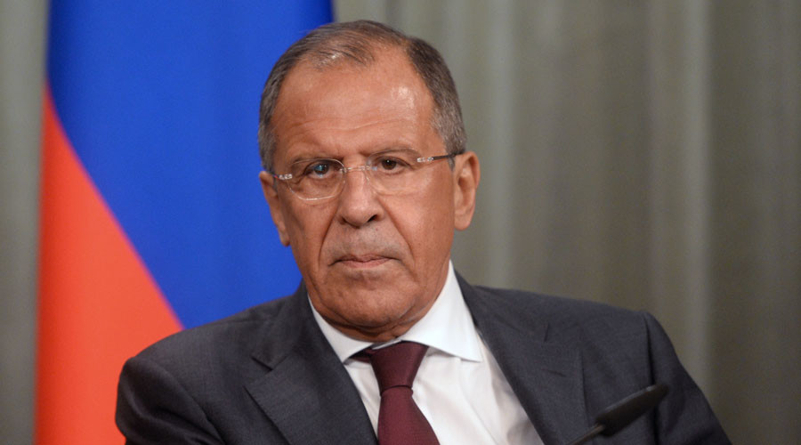 Minister of Foreign Affairs of Russia Sergey Lavrov. © Grigoriy Sisoev