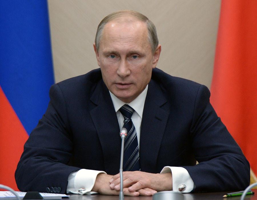 Russian President Vladimir Putin. © Aleksey Nikolskyi