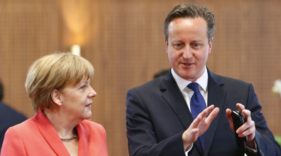 Cameron & Merkel to hold talks on UK EU membership, refugee crisis