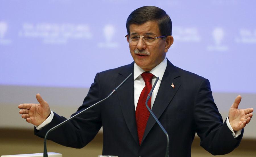 Turkey's Prime Minister Ahmet Davutoglu. © Umit Bektas