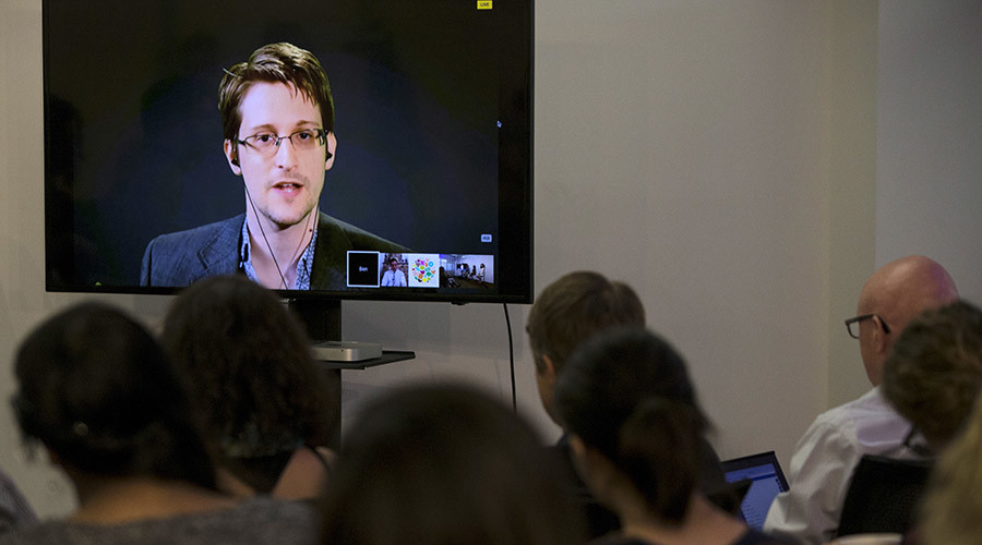 American whistleblower Edward Snowden. © Andrew Kelly