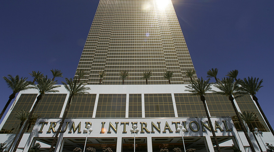 A view of The Trump International Hotel & Tower Las Vegas during its official opening in Las Vegas. © Steve Marcus