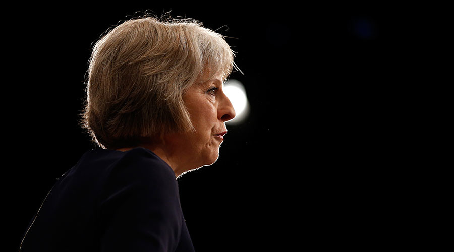 Britain's Home Secretary Theresa May. © Phil Noble