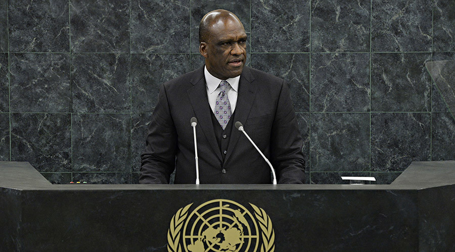 John Ashe, a former ambassador to the UN for Antigua and Barbuda. © Andrew Burton