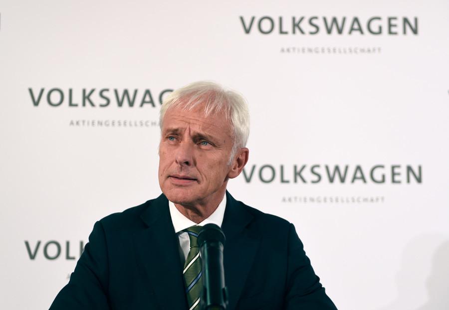 New Volkswagen CEO Matthias Mueller © Fabian Bimmer