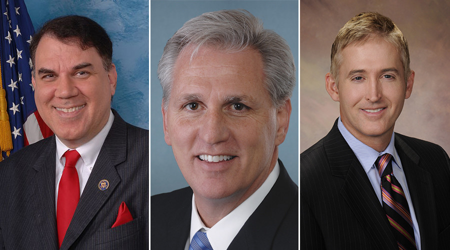 Rep. Alan Grayson (D-Florida) has filed an ethics complaint against Reps. Kevin McCarthy (R-California) and Trey Gowdy (R-South Carolina) over the Benghazi Committee