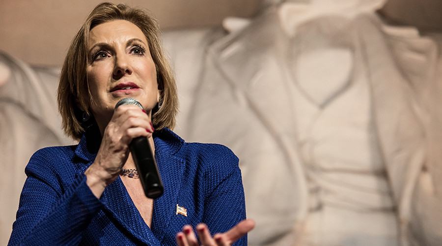 Carly Fiorina may have disclosed classified info when revealing she aided NSA as HP chief – report