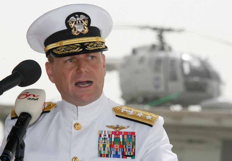U.N. Navy Rear Admiral Bill Gortney © Hamad I Mohammed