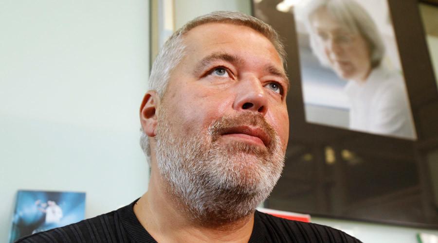 Novaya Gazeta's editor-in-chief Dmitry Muratov © Sergei Karpukhin