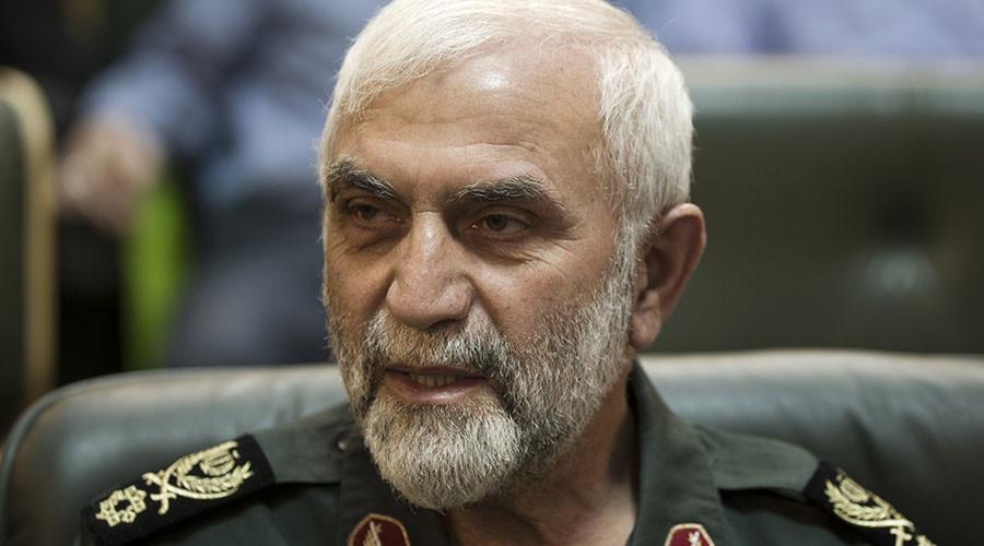 General Hossein Hamedani. © Morteza Nikoubazl
