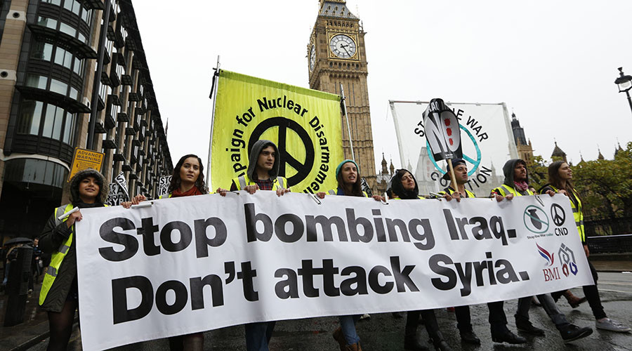 'Stepping up Syria intervention will increase violence, chaos & suffering' – Stop the War