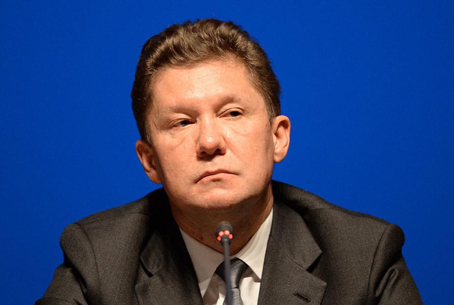 Gazprom CEO Alexei Miller. © Mikhail Voskresenskiy