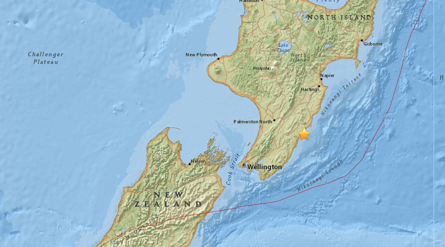5.4 earthquake hits 150km from New Zealand's capital