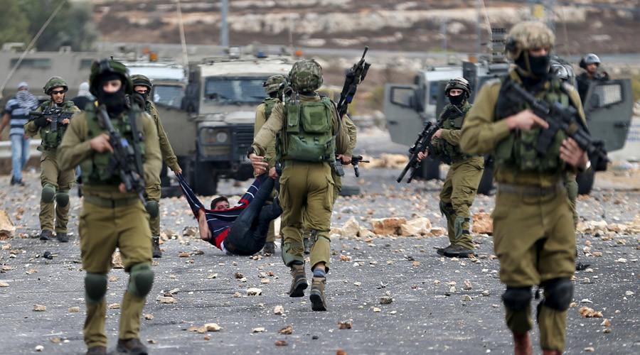 Israeli soldiers. © Mohamad Torokman