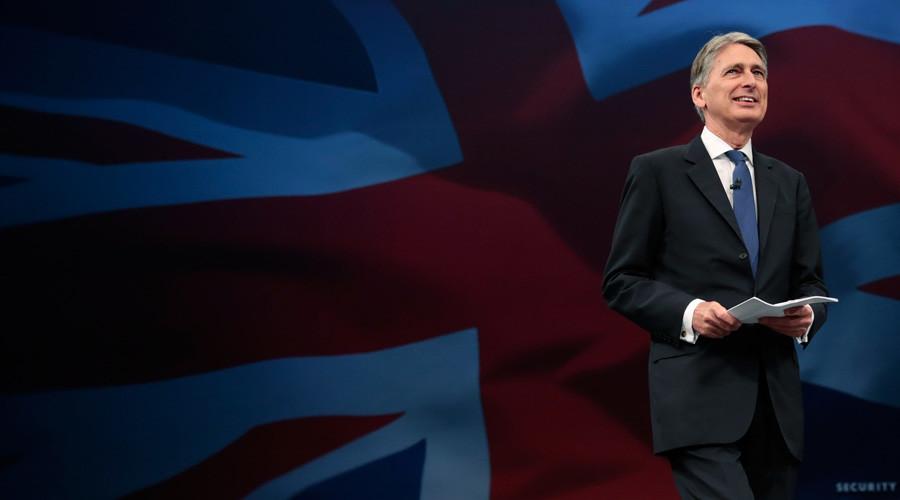 Britain's Foreign Secretary Philip Hammond © Suzanne Plunkett