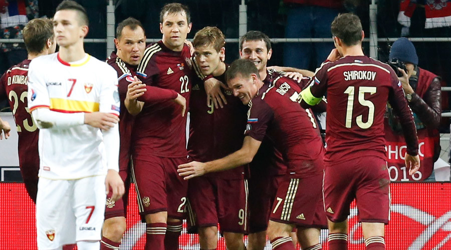 Russia beats Montenegro 2-0, qualifies for Euro-2016