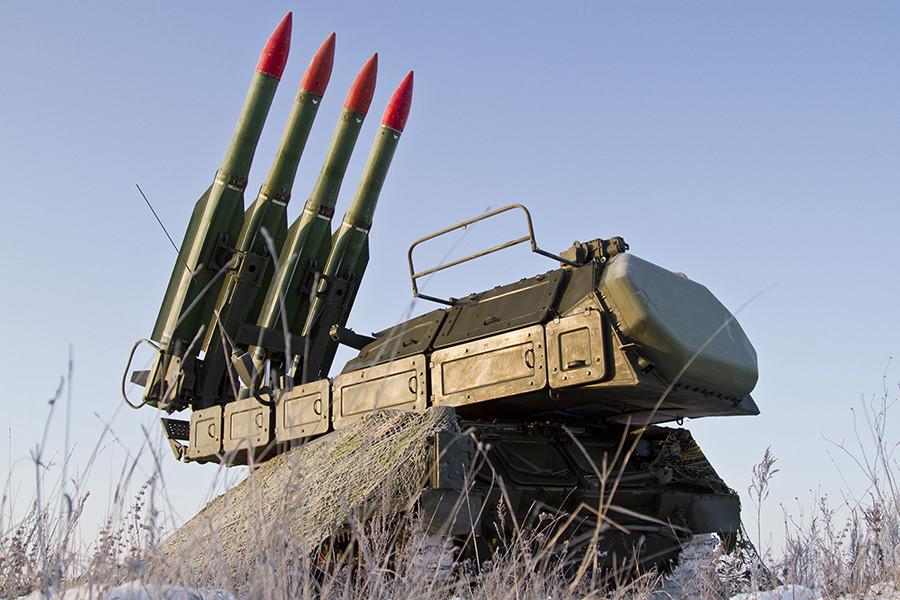 BUK-2M missile system © Vadim Braydov