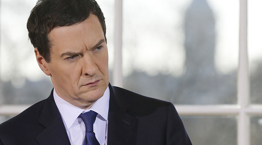 Britain's Chancellor of the Exchequer George Osborne. © Suzanne Plunkett