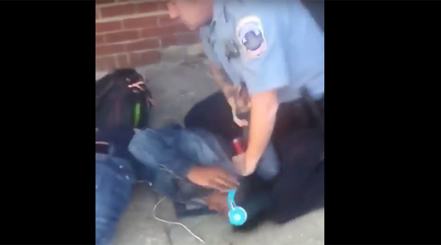 'I am not resisting': Brutal police arrest of innocent black student sparks protests in DC