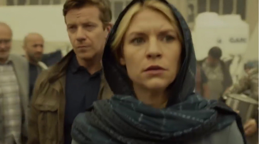 'Homeland is a joke': Artists on TV show sabotaged it with critical graffiti, no one noticed