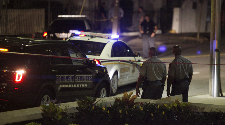 Police respond to a shooting at the Emanuel AME Church in Charleston, South Carolina June 17, 2015. © Randall Hill