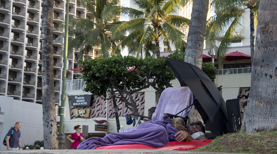 Hawaii declares state of emergency over homeless problem