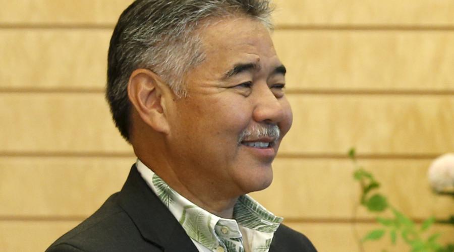 Hawaii Governor David Ige © Toru Hanai