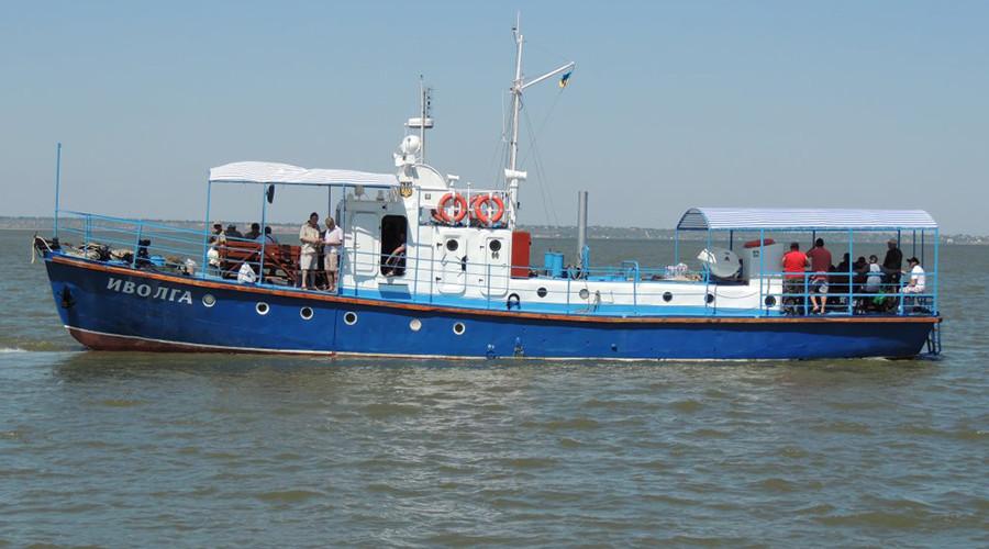 The 'Ivolga,' which sank on Saturday © fishing.odessa.ua