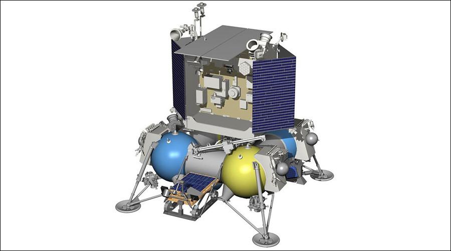 An earlier blueprint for Luna 27 © Roscosmos