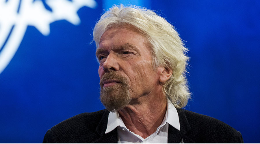 Sir Richard Branson, founder of Virgin Group and Virgin Unite. © Lucas Jackson