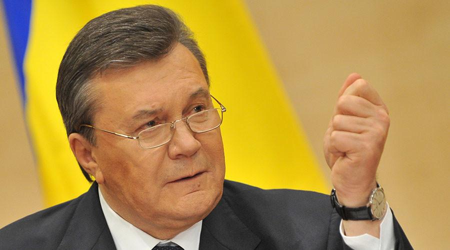 Viktor Yanukovych, the ousted President of Ukraine. © Sergey Pivovarov