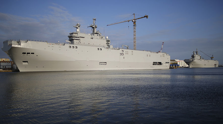 Russia to outfit Egypt's Mistral 'tin can' warships