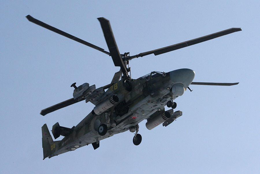 Ka-52 Alligator helicopter. © Vitaliy Ankov