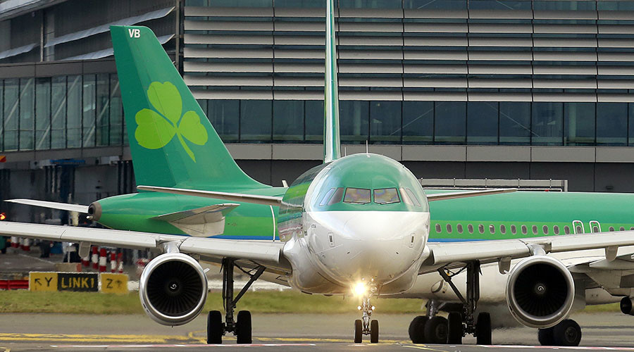 '$63k of cocaine' in AerLingus passenger's stomach led to biting rage & death