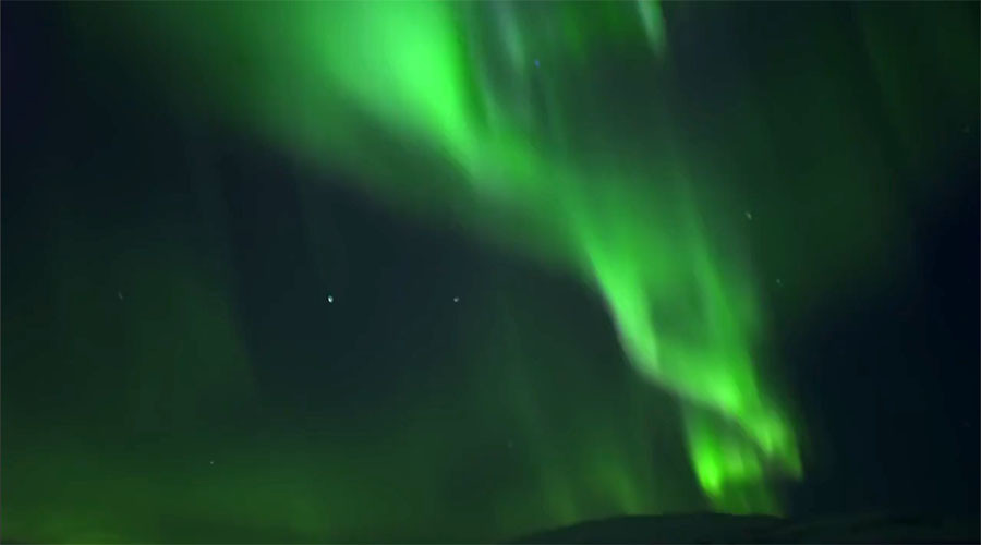 Stunning Northern Lights illuminate sky in Norway (VIDEO)