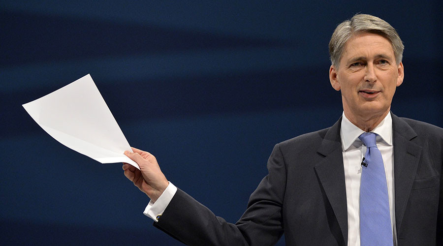 Workers' party? Hammond defends contractor over sacking of cleaners who asked for pay raise