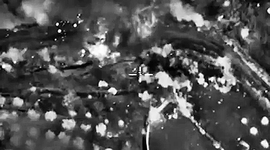 Combat report: Russian jets strike 60 terrorist targets in Syria in 55 sorties
