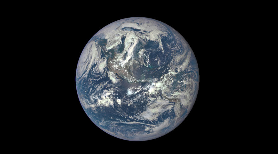 Hey look, it's Earth! NASA unveils website posting daily images of our blue marble
