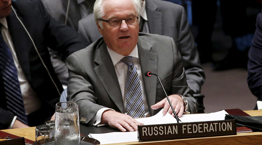 Russian Ambassador to the United Nations Vitaly Churkin © Mike Segar
