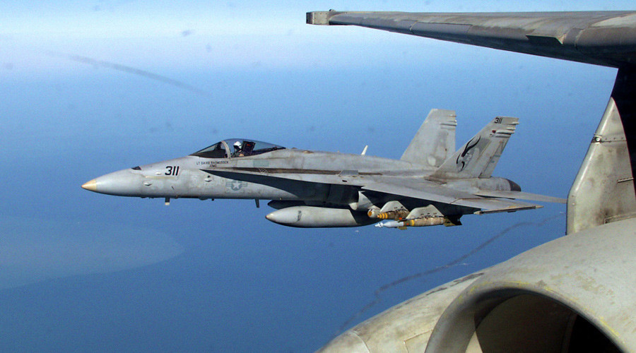 US pilot killed in F/A-18 Hornet crash near Lakenheath, UK police confirm