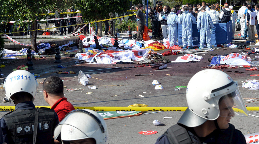 Turkish Pres. Erdogan accuses ISIS, Kurds, Syria intel of fatal Ankara bomb attack