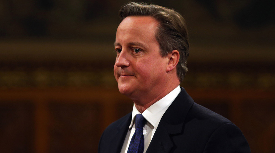 Cameron shuns anti-obesity sugar tax, 'powerful food & drinks lobby' blamed