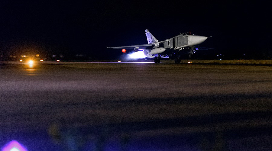 No rest for wicked: Night can't save terrorists from Russian bombers (PHOTOS)